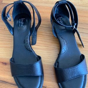 Boc black sandals